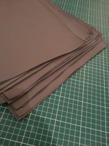 After all this, it's back to cutting material for the next addition to the NoLogo products list.