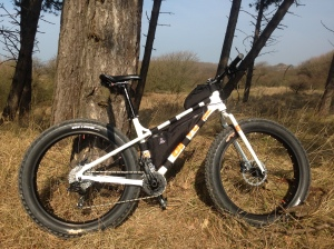 Fat Bike frame bags have been taking off